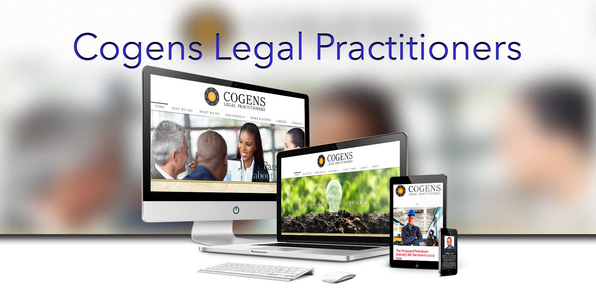 Law firm website design from HeadSmart Media